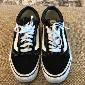 Vans shoes womens 8.5